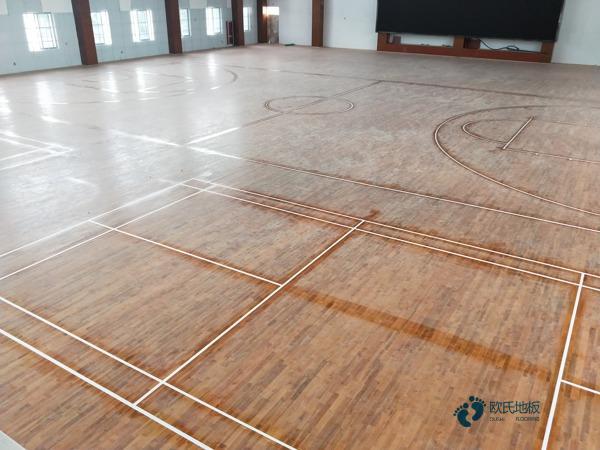 篮球场地板造价