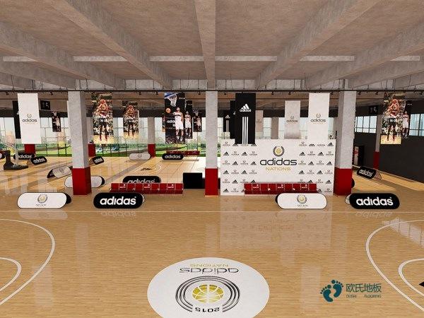 篮球场木地板价格是多少