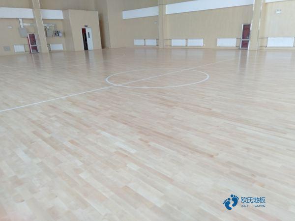 20厚运动篮球地板结构
