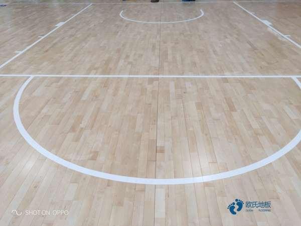 篮球场馆木地板厂家报价