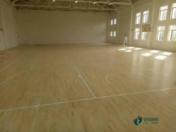 篮球木地板报价表