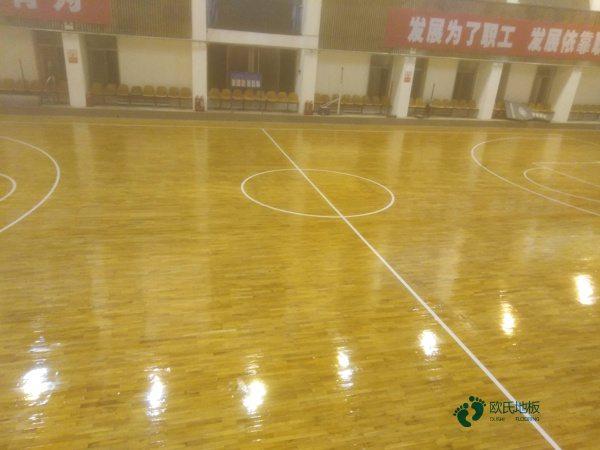 篮球运动木地板较低价格