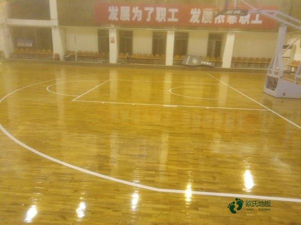 进口篮球场木地板怎么维修