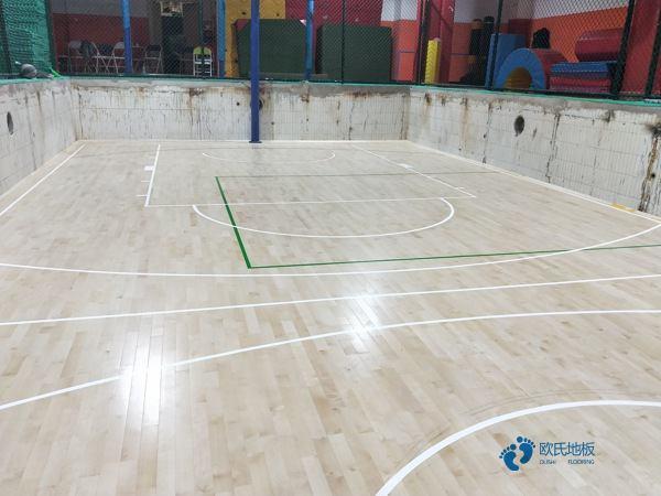 行业体育馆木地板安装公司