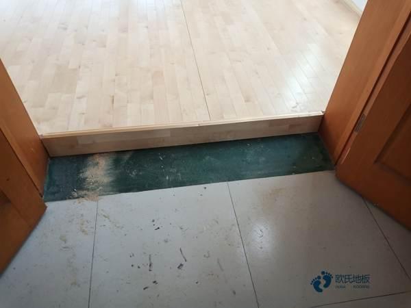 行业篮球场地木地板安装公司