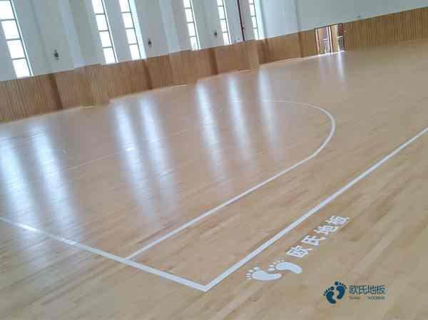 行业篮球运动木地板安装公司