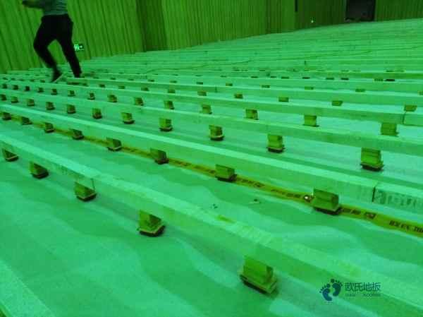行业篮球馆木地板厂家报价