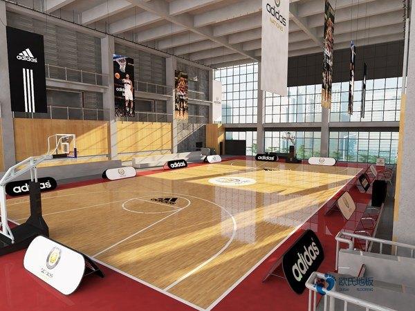 行业运动体育木地板安装公司