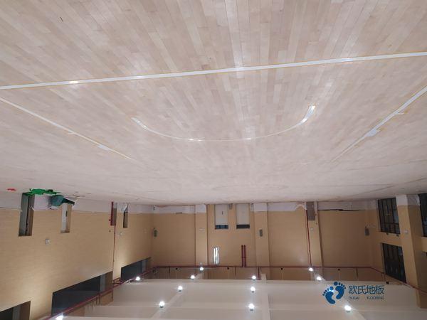 每平米价格20厚体育馆木地板