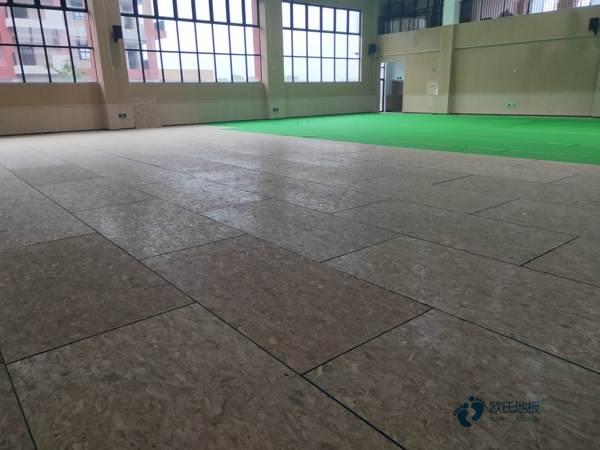 柞木实木运动地板施工工艺