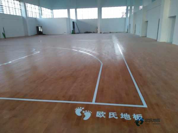 广西专业体育木地板价格表