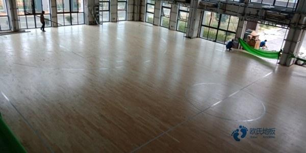 赛事体育馆木地板造价