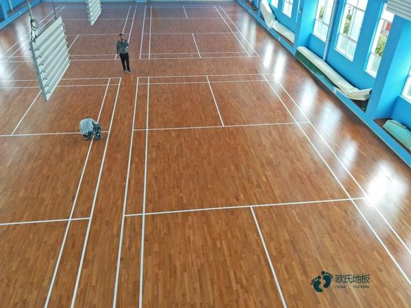 赛事场馆篮球场地板哪家好