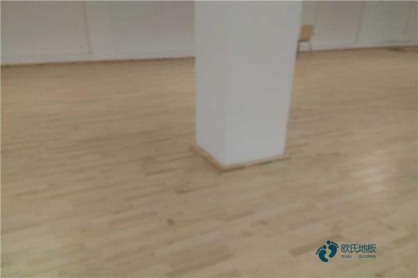 广东柞木篮球木地板厂家直销
