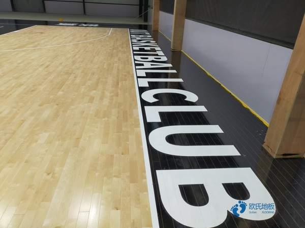 甘肃硬木企口篮球木地板直销