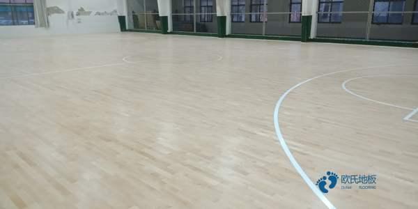 吉林篮球木地板价格表