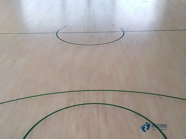 企口篮球实木运动地板厂家直销