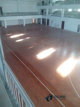 枫桦木篮球地板大全