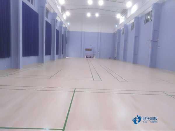 高端篮球场地木地板安装公司