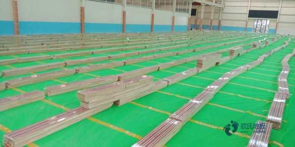 室内运动实木地板厂家报价