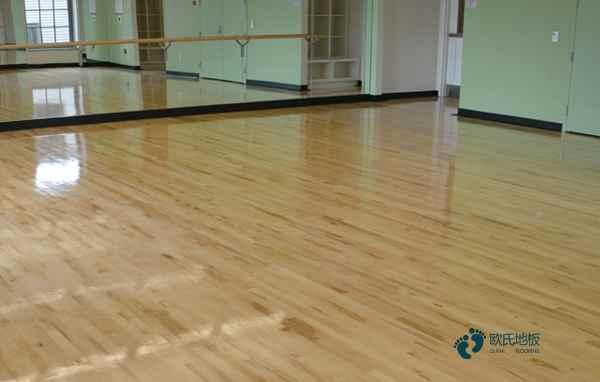 拼接板舞蹈房木地板**