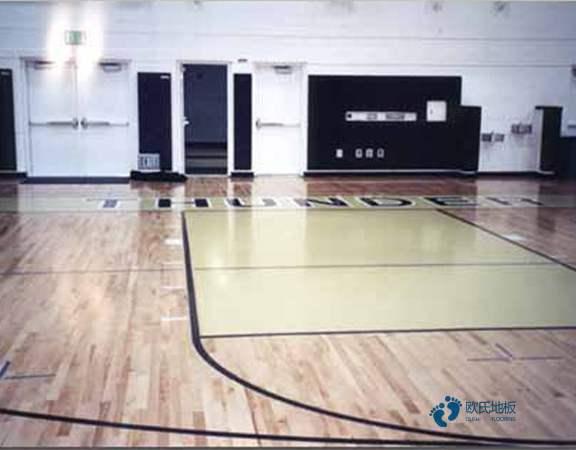 常用的体育场馆木地板怎么安装