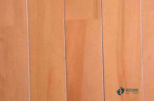 硬木企口排球馆木地板结构