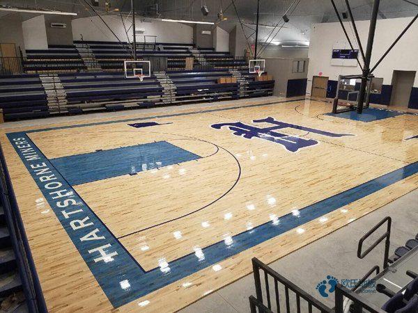 大型体育场馆木地板多少钱一平方