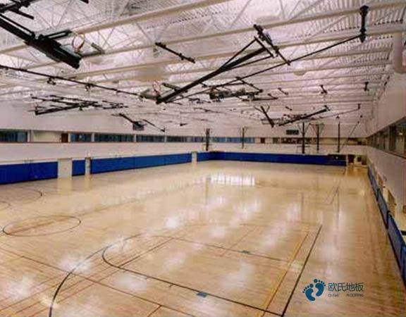 枫木篮球馆地板厂家电话