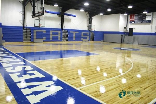 24厚乒乓球馆木地板多少钱一平米?