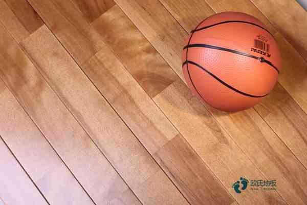 指接板篮球场实木地板翻新施工