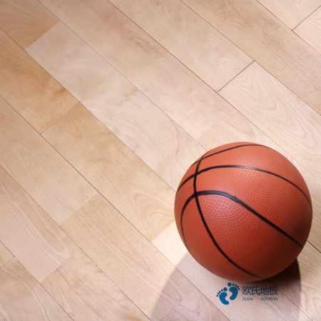 单龙骨体育场地地板保养方法