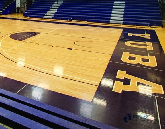 篮球场木地板怎么安装1