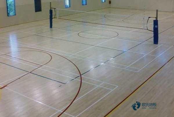 篮球场木地板怎么安装3