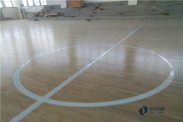 篮球场木地板用于家装1