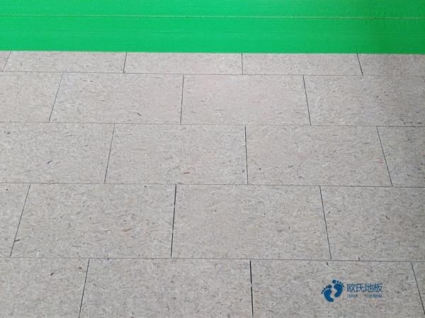 单龙骨体育篮球地板保养