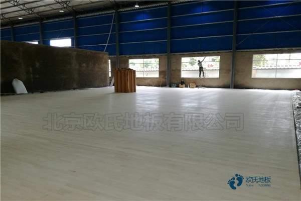 单龙骨体育篮球地板环保吗
