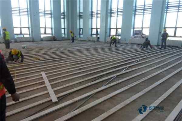 拼装实木运动地板厚度