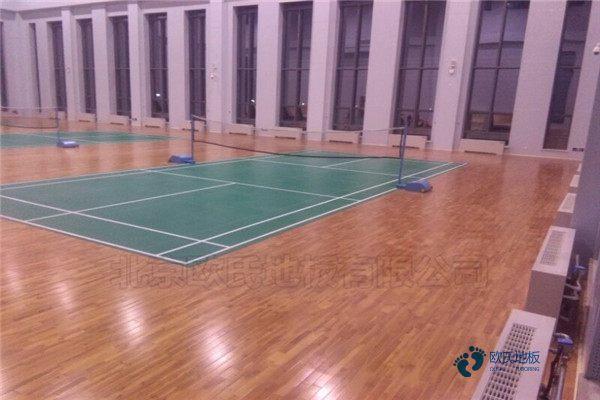 体育馆木地板报价松木