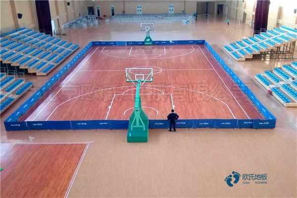 指接板篮球运动地板怎么翻新?