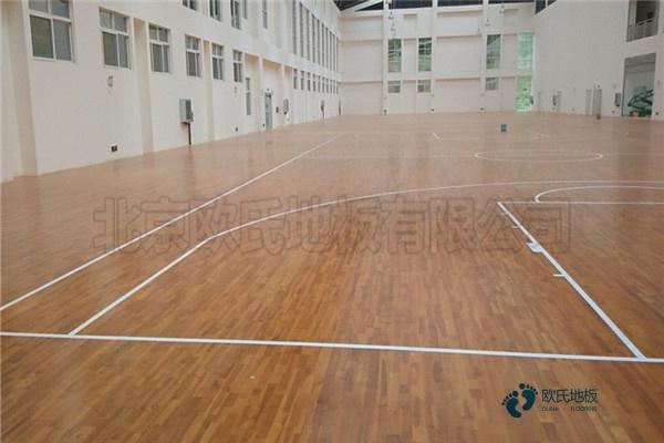 常用的运动实木地板保养