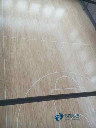 单龙骨体育馆地板如何保养