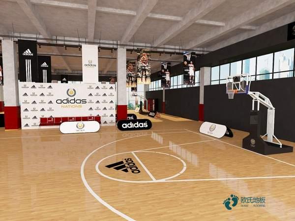 单龙骨篮球木地板如何保洁