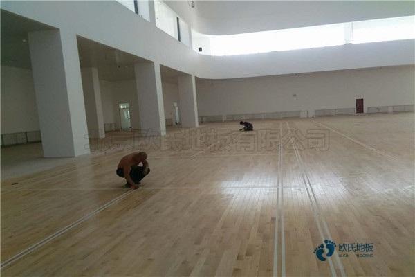 单龙骨篮球运动地板环保