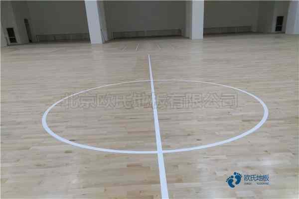 单龙骨篮球运动木地板如何保洁