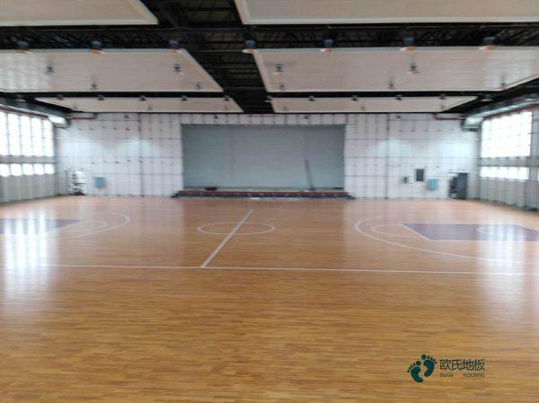 单龙骨篮球馆木地板环保