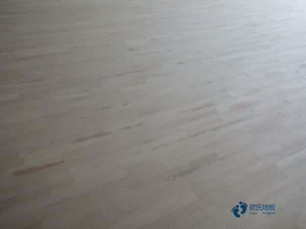 湖北硬木企口篮球木地板翻新