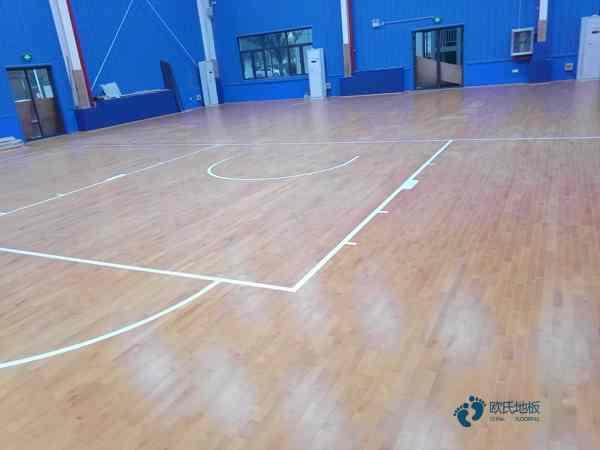 运动木地板施工全过程1