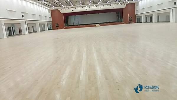运动木地板施工全过程2