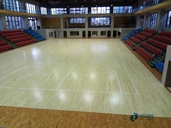 训练馆篮球馆木地板施工技术